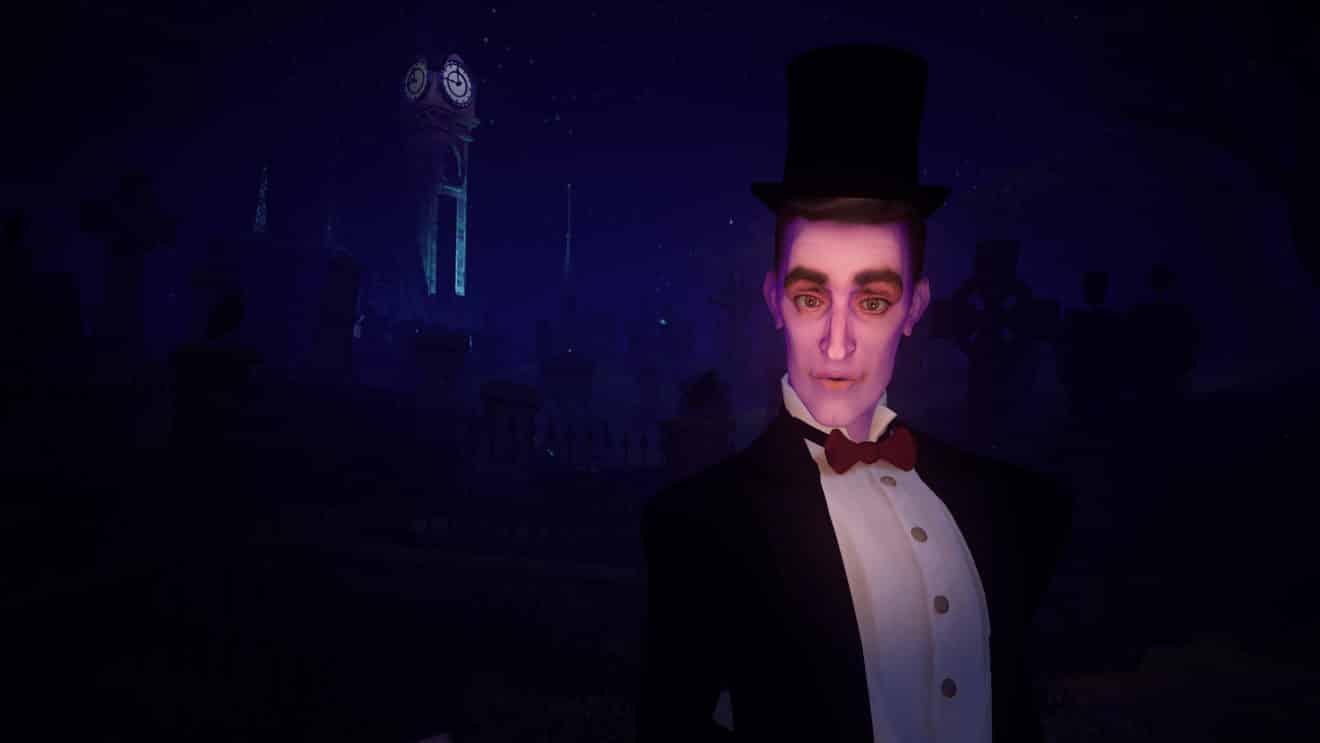 The Haunted Graveyard ist ein durchweg hochwertigproduziertes, filmisches VR-Erlebnis im Stile Tim Burtons.