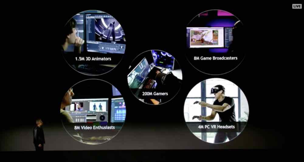 Auf der CES sprach Nvidia-CEO Jensen Huang von vier Millionen verkauften PC-VR-Brillen. Wie er auf diese Zahl kommt, ist unklar.