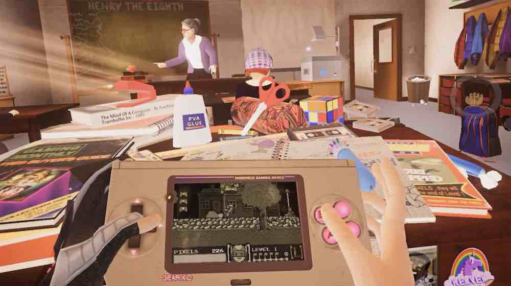 Pixel Ripped 1989 ist der wahr gewordene Traum eines jeden Game-Boy-Nostalgikers und versetzt VR-Nutzer in verloren geglaubte Zeiten zurück.