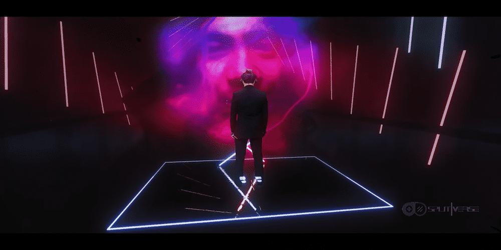 Ein Beat-Saber-Profi, ein Twitch-Streamer und ein VR-Filmstudio haben sich zusammengetan und ein aufwendiges Mixed-Reality-Video produziert.