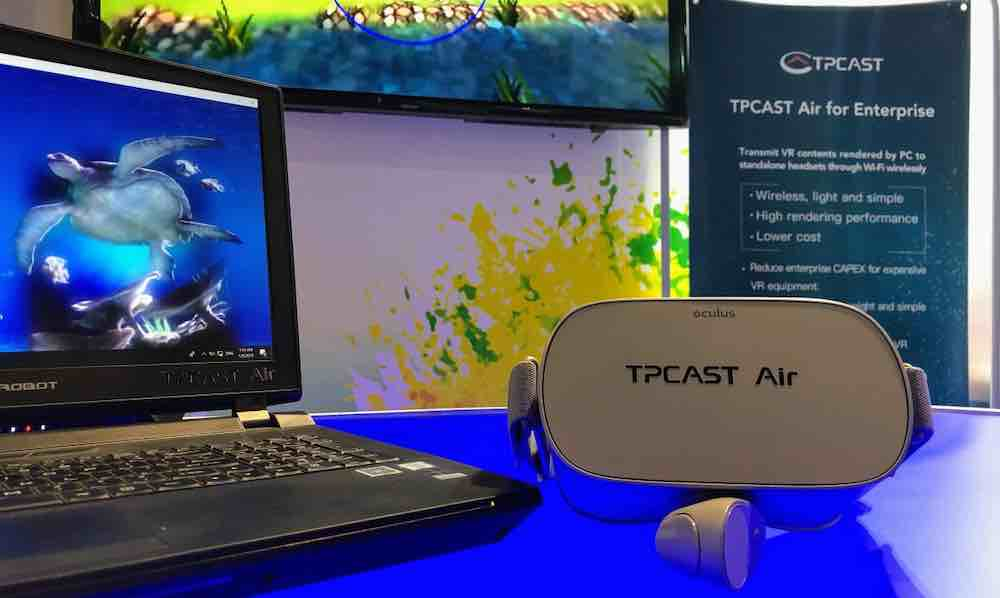 Von der Technologie dürften in erster Linie Betreiber von VR-Arcades profitieren. Sie können in Zukunft auf teure Rucksack-PCs verzichten.
