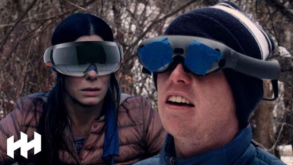Ein Test zeigt, dass Sandra Bullock und ihren Weggefährten mit der AR-Brille Hololens gut geholfen wäre.