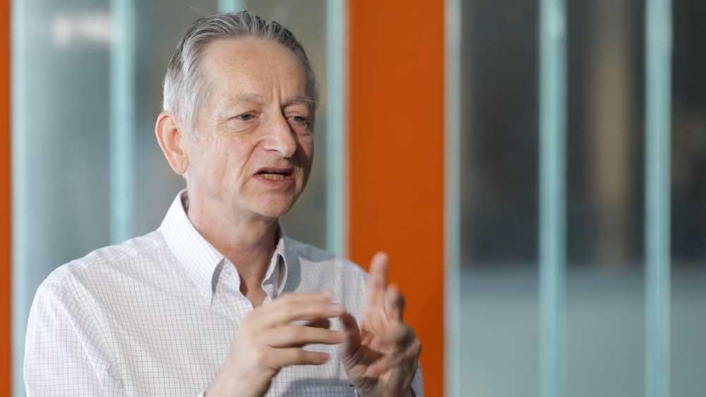 "KI-Pate Hinton: ""Deep Learning kann alles"""