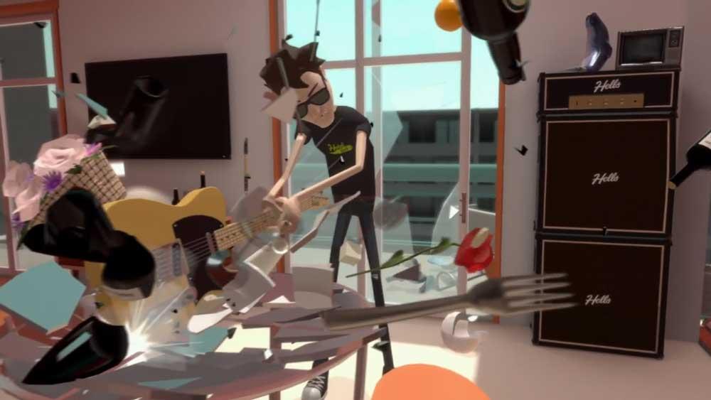 Die Bewegungsfreiheit in Virtual Reality schafft Raum für ungewöhnliche Spielkonzepte.
