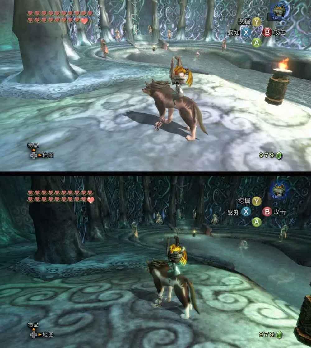 "Nvidia wertet den Zelda-Klassiker ""Twilight Princess"" mittels KI-Rendering optisch auf."