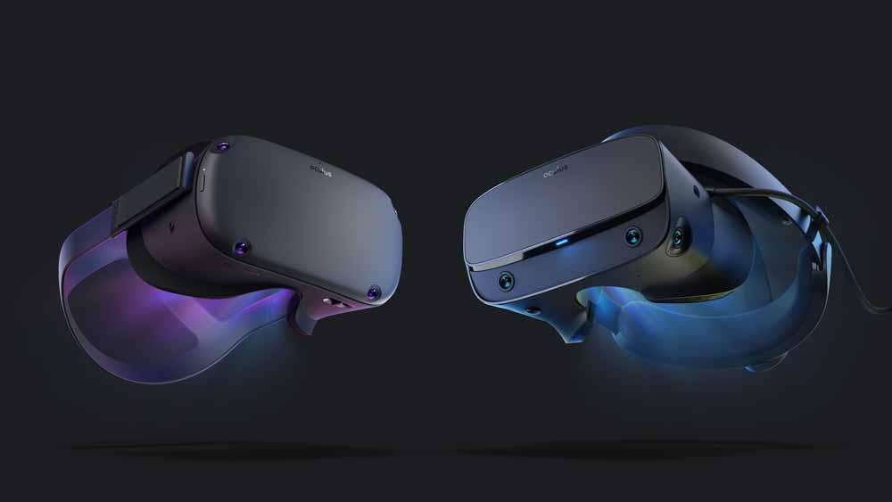 Mit Oculus Rift S und Oculus Quest erscheinen im Frühling gleich zwei neue Oculus-Brillen auf einen Schlag. Welche Brille lohnt sich für wen? Und wie passt eigentlich Oculus Go da noch rein?