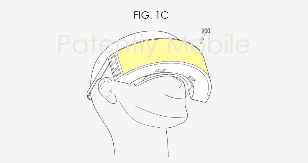 Bastelt Samsung eine neue Mixed-Reality-Brille mit gebogenem Display und weitem Sichtfeld?