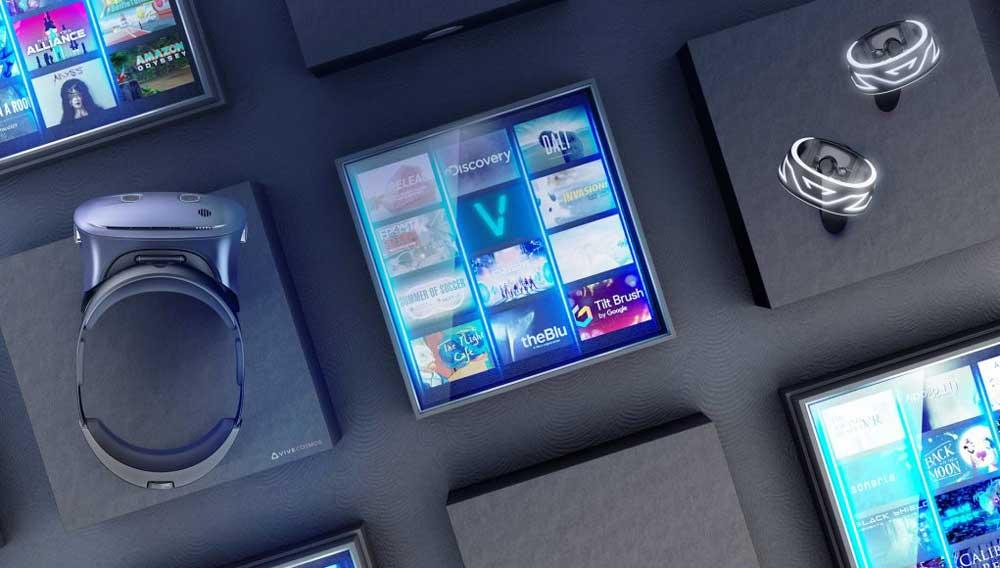 Vive Cosmos soll HTC als trojanisches Pferd für den Viveport Store dienen. Ziel: viele neue Nutzer gewinnen. Bild: HTC