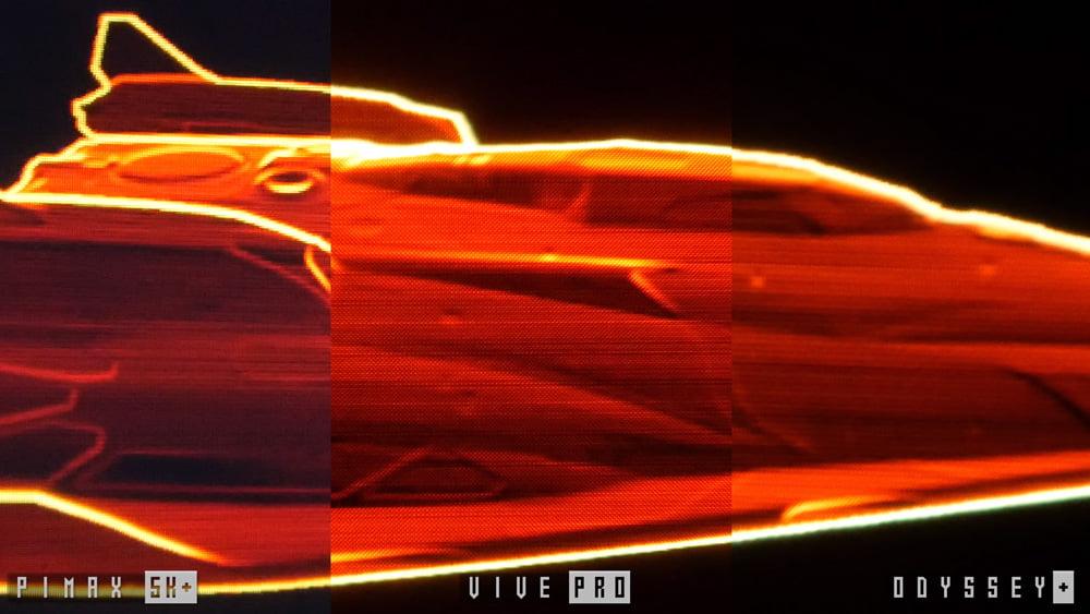 Dank OLED bieten Vive Pro und Odyssey+ ein satteres Schwarz. Bild: Tyriel Wood