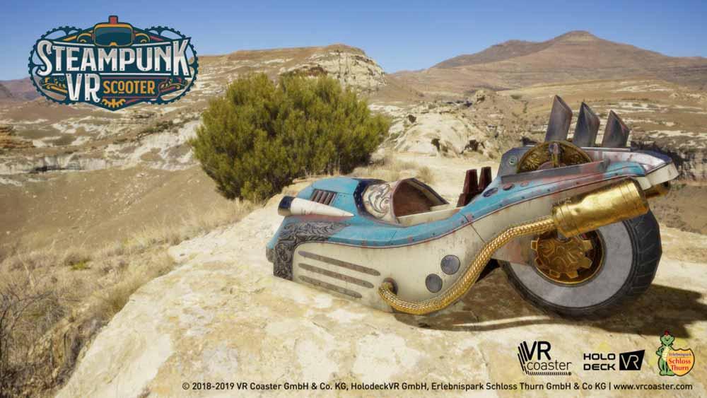 Ein Autoscooter im Wilden Westen? Das gibt's nur in Virtual Reality.