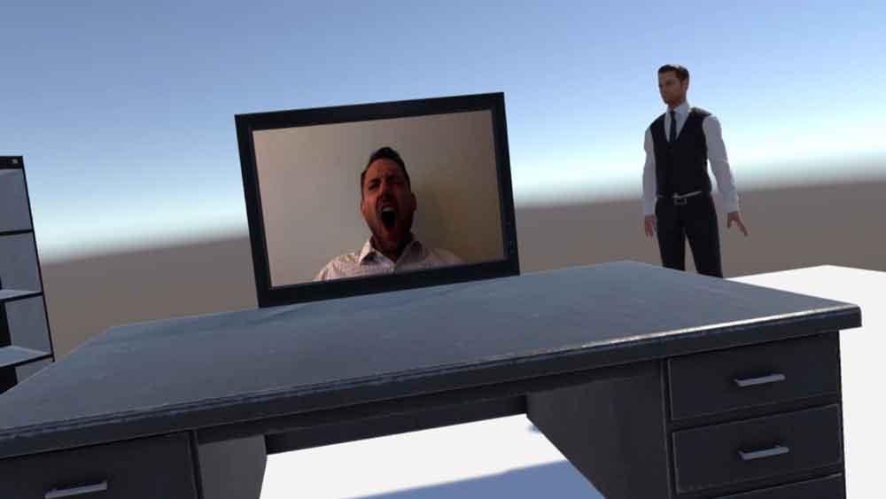Gähnen ist ansteckend - kennt man. Forscher untersuchten den Reflex in VR. Ihr Ergebnis: VR-Verhalten entspricht nicht realem Verhalten.