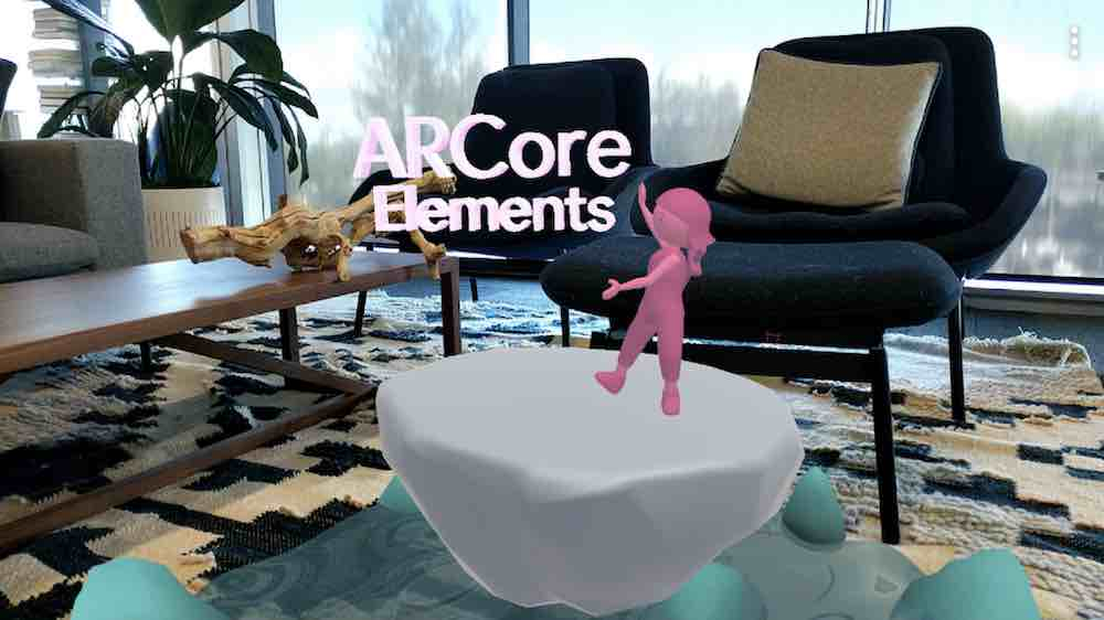 Google entwickelt ARCore weiter. Die neueste Version bringt unter anderem augmentierte Gesichter und vorgefertigte UI-Komponenten.