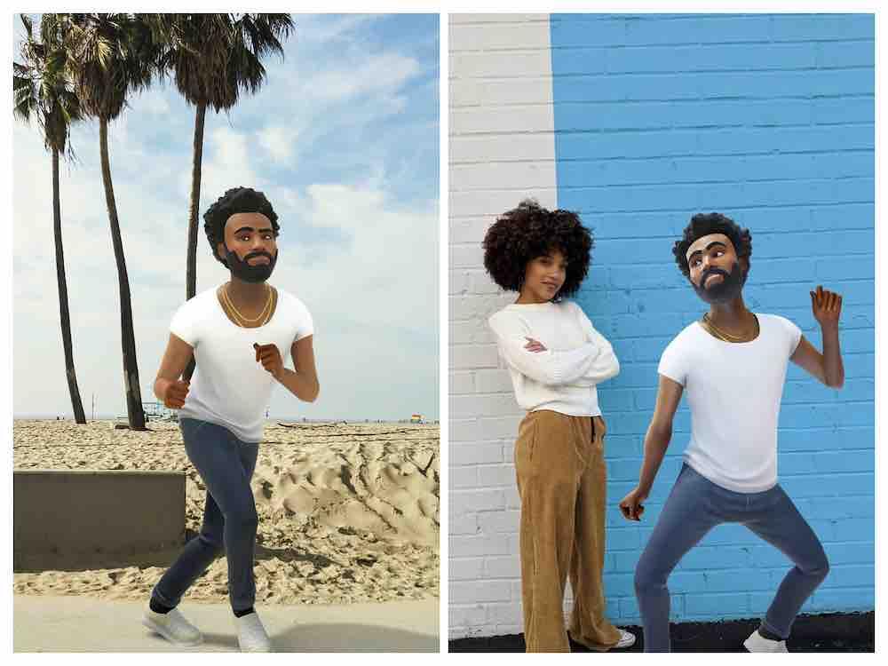 Das neueste Google-Playmoji ist ein digitales Alter Ego des Hip-Hop-Künstlers Childish Gambino, das so gut tanzt wie sein Vorbild.