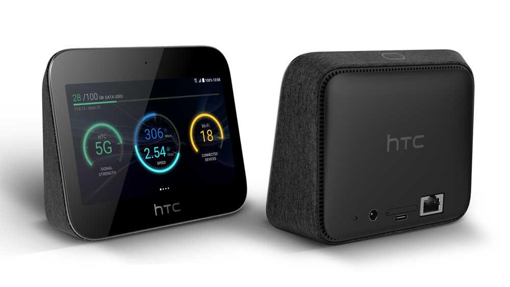 So sieht er aus, HTCs 5G Smart Hub. Bild: HTC
