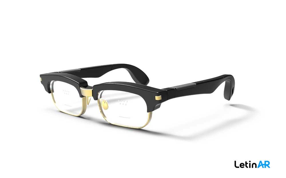 Eine prototypische AR-Brille mit Pinhole-Display. Bild: LetinAR