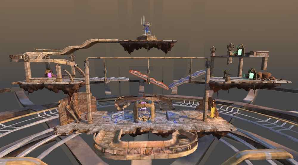 Das Physik-Rätselspiel Marble Land schafft den Sprung von Oculus Rift auf die Oculus Go. Macht es mit der autarken VR-Brille ebenfalls Spaß?