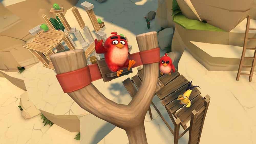 Angry Birds! Die Mutter aller Smartphone-Spiele ist ab sofort für die VR-Brillen Oculus Rift und HTC Vive erhältlich. Weitere Brillen sollen folgen.