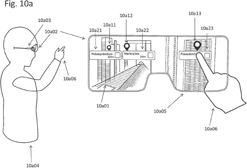 Ein neues Patent zeigt, das sich Apple mit Augmented-Reality-Navigation befasst.