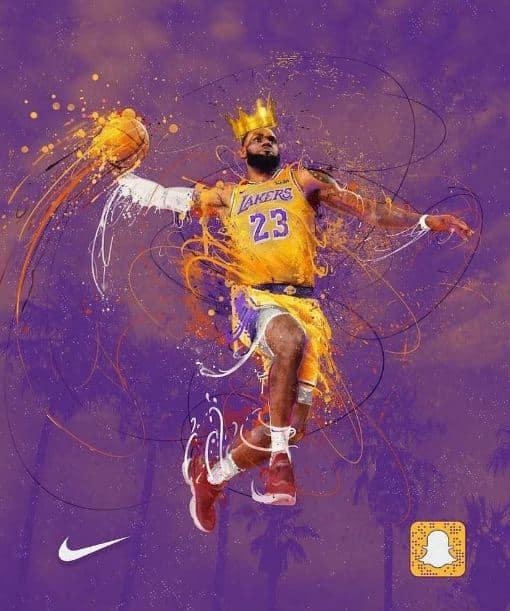 ... und an Dunk-Action erfreuen. Bild: Nike