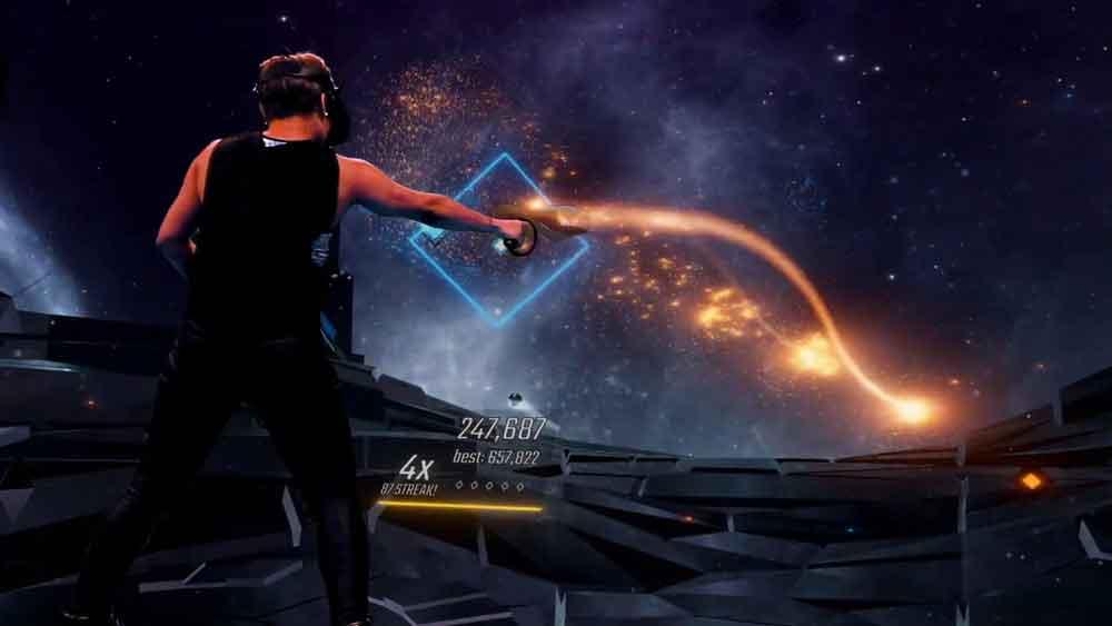 Der Beat Saber Hype-Zug bleibt einfach nicht stehen. Grund genug für denRhythmusspiel-Altmeister Harmonix, mit einem ähnlichen Spielkonzept ins VR-Geschehen einzugreifen. Statt Schwerter gibt es Knarren.