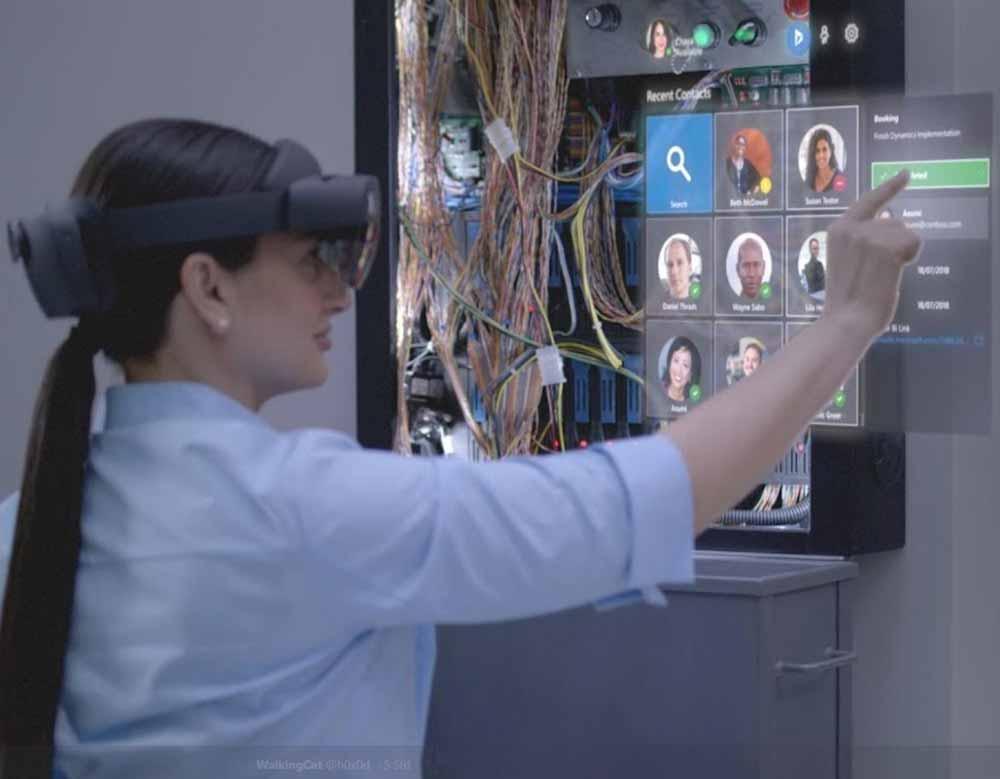 Wenige Stunden vor der offiziellen Enthüllung gibt es offenbar erste Bilder von Microsofts Hololens 2.