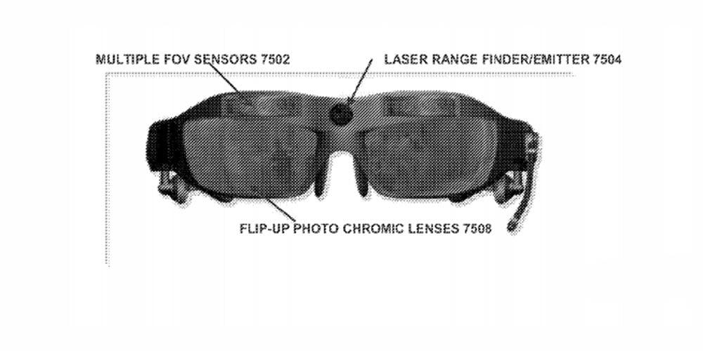 Voraussichtlich Ende Februar wird Microsoft die zweite Generation Hololens-Brille vorstellen. Falls ein neues Patent mit dem Gerät in Zusammenhang steht, dann freuen wir uns auf eine gute Show. Womöglich zeigt das Patent eine Hololens-Spezialanfertigung für das Militär.