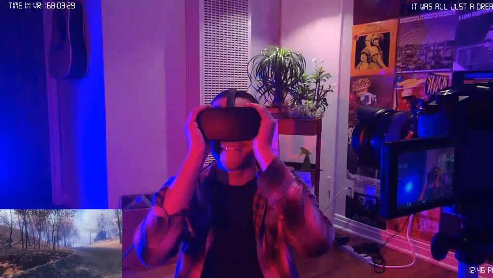 Dieser Mann war eine Woche am Stück in der Virtual Reality
