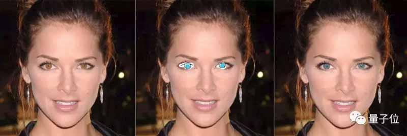 Augenfarbe verändern - kinderleicht. Bild: ETRI