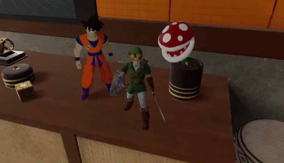 Hier hat sich ein Nintendo-Fan verirrt.