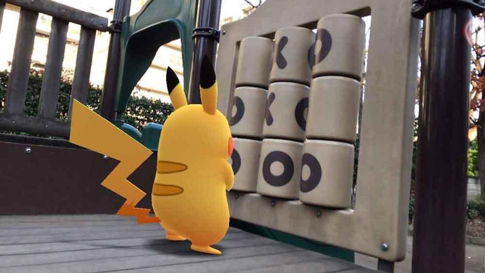 Pokémon Go: AR-Pikachu spielt Tic Tac Toe
