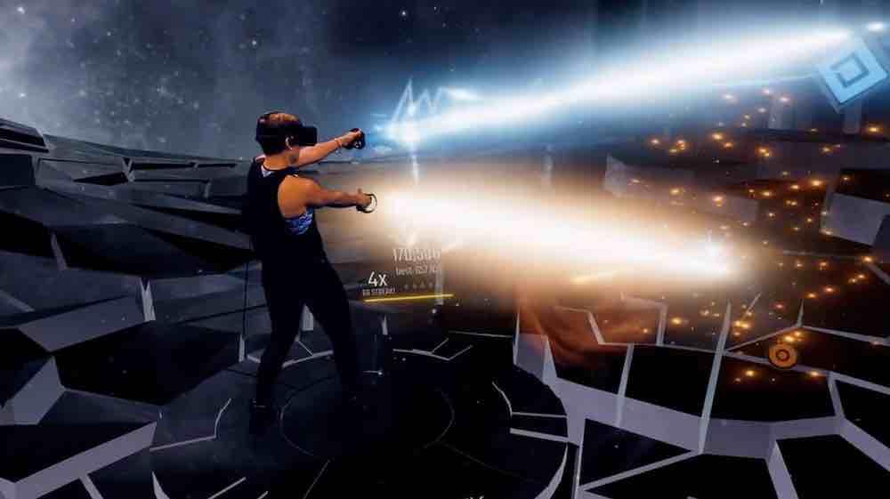 Audica ist Harmonix' (Rock Band, Guitar Hero) ureigene Interpretation des Virtual-Reality-Rhythmusspiels. Ich habe es angespielt.