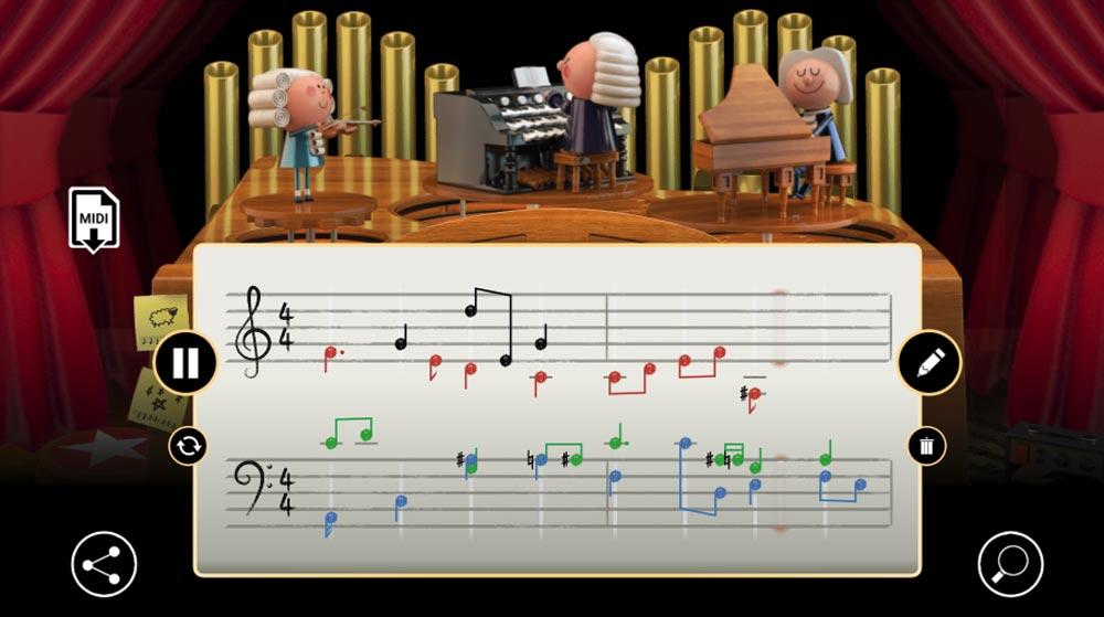 Googles neues KI-Doodle macht aus eurem Geklimper eine Bach-Komposition