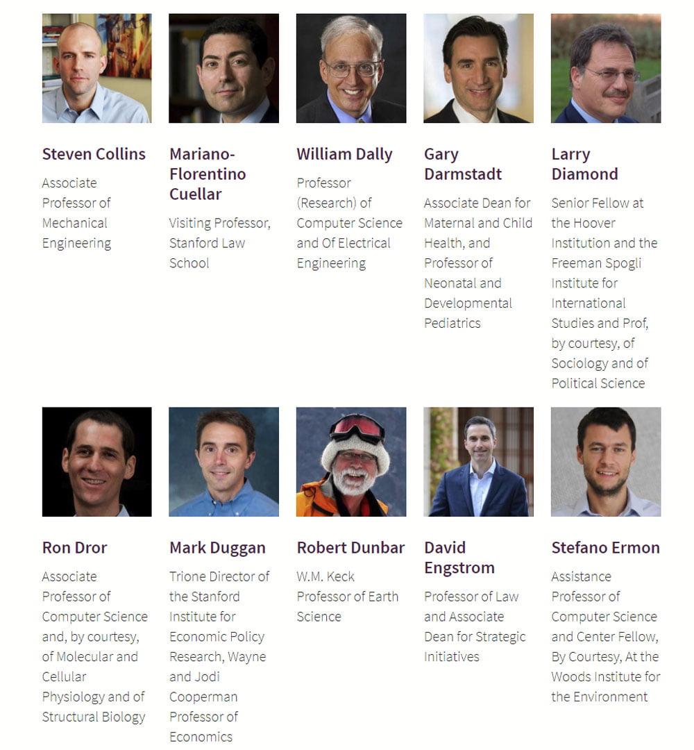 Stanfords neues KI-Institut hat ein Weiße-Männer-Problem