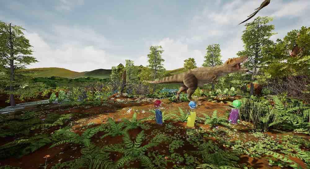Im American Museum of Natural History eröffnet am Montag eine große Ausstellung über den T-Rex. HTC steuert eine VR-Erfahrung bei.