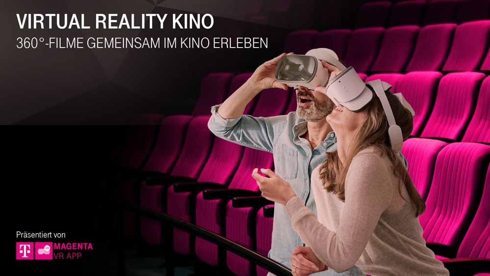 Kino-VR: Telekom startet Virtual-Reality-Tour durch Berlin, Köln, München und Hamburg