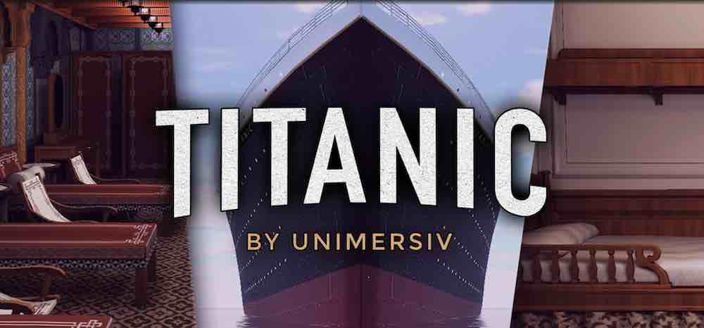 Die VR-Lernplattform Unimersiv bietet eine virtuelle Erkundung der Titanic. Ich habe mich auf das legendäre Passagierschiff begeben.