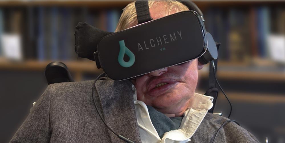 Stephen Hawking: VR-Abschiedsgruß des genialen Physikers
