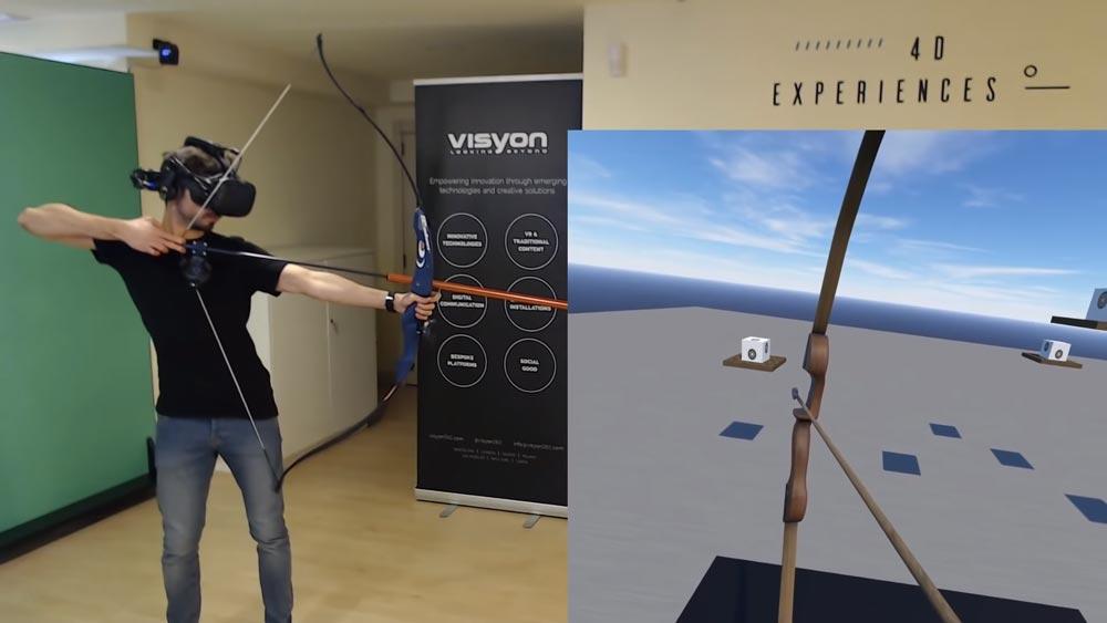 Fetter Loot für VR-Freaks: Blauer Bogen der Immersion, +100 auf Glaubhaftigkeit.