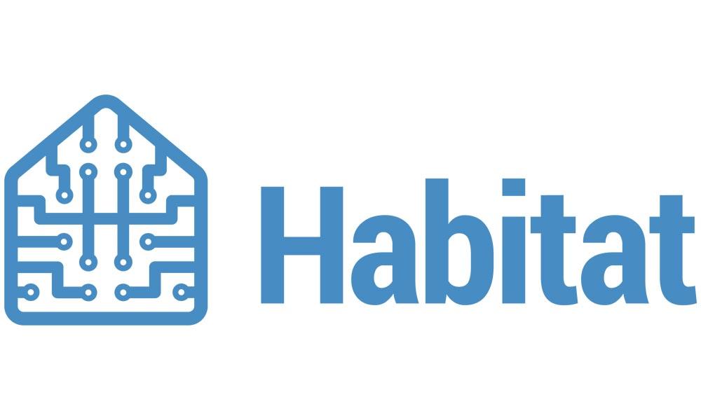 """Auf Facebooks neuer KI-Plattform """"Habitat"""" soll Künstliche Intelligenz in simulierten Umgebungen über die echte Welt lernen."""