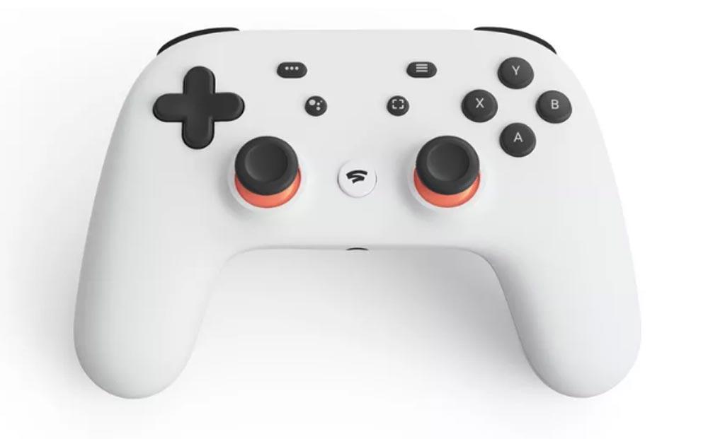 Der Stadia-Controller ist ... ein Controller. Bild: Google