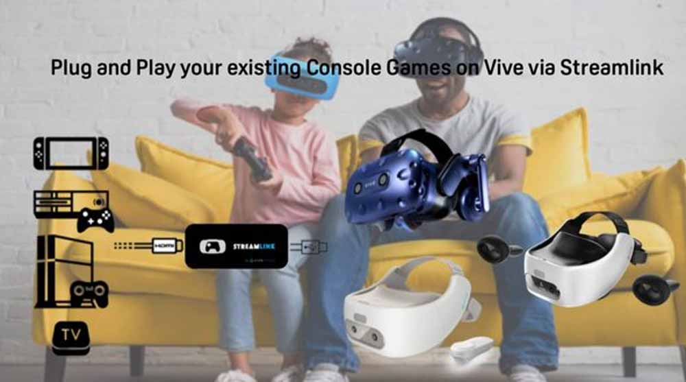 | htc vive streamlink