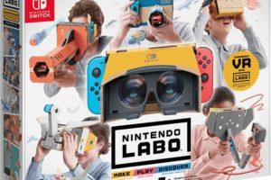 Nintendo bringt Labo VR, Virtual Reality zum Selberbasteln für Kinder und Familien.
