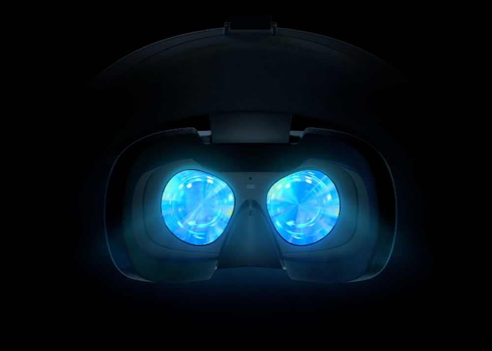Luckeys Augen stehen zu weit auseinander für Oculus Rift S.
