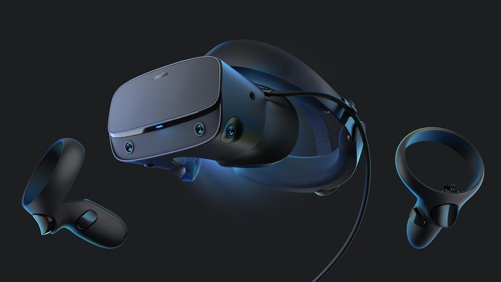 Oculus Rift S kostet 400 US-Dollar und ersetzt die klassische Oculus-Rift-Brille. Erscheinen wird die neue VR-Brille im Frühling.