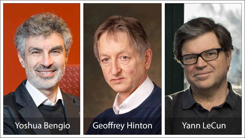 Seit Jahrzehnten prägen die KI-Wissenschaftler Geoffrey Hinton, Yann LeCun und Yoshua Bengio ihr Forschungsgebiet. Jetzt wird ihre Arbeit mit dem wichtigsten Preis der IT-Forschung ausgezeichnet.