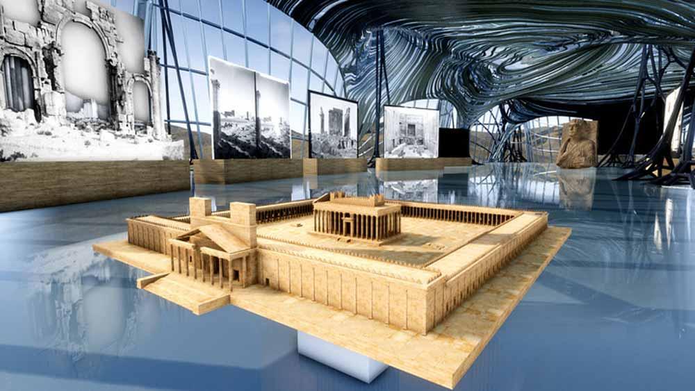 Die Dokumarke Terra X (ZDF) führt durch eine digitale Rekonstruktion des UNESCO-Welterbes Palmyra.