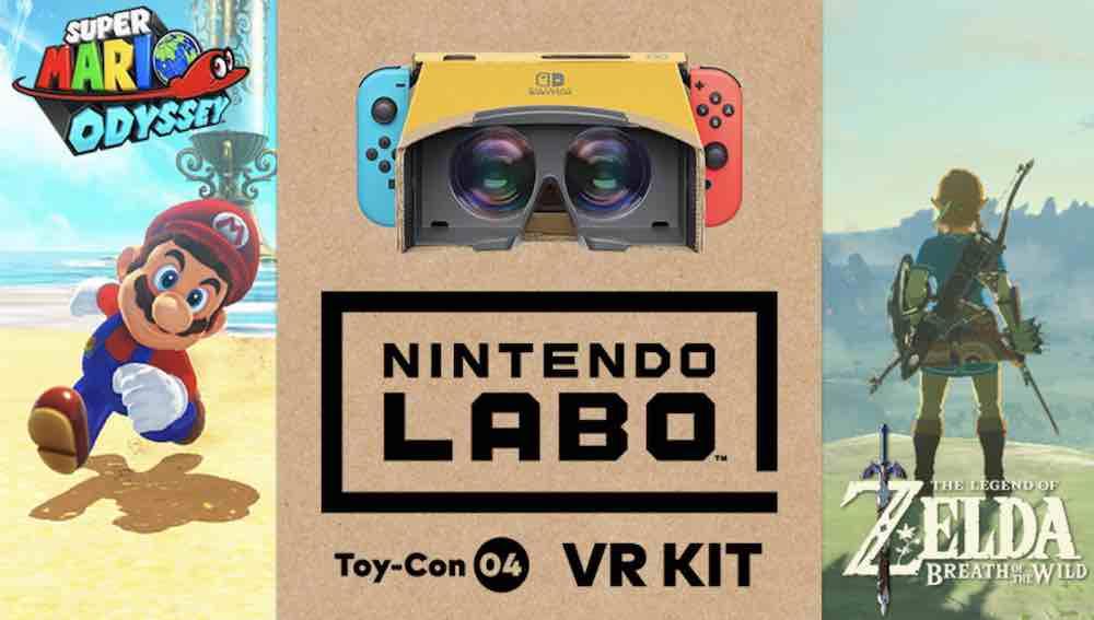 Nintendo kündigt hochkarätigen Software-Nachschub für die in Labo VR mitgelieferte VR-Brille an.