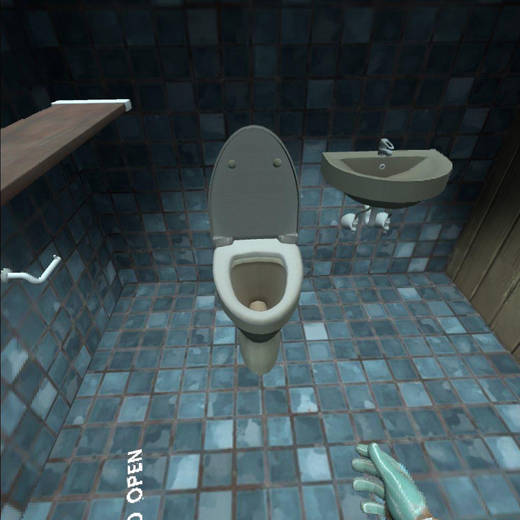 Mitunter erinnert die Grafik an PS2-Zeiten. Dafür aber eben in VR, mit 72 Bildern pro Sekunde und mit 3D-Effekt. Bild: Screenshot / Apex Construct