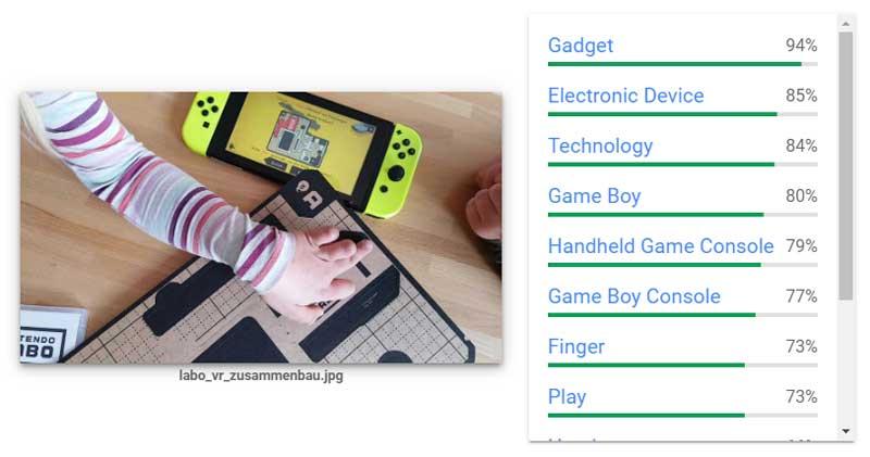 Bilderkennungs-KIs identifizieren Personen - oder auch mal eine Switch.