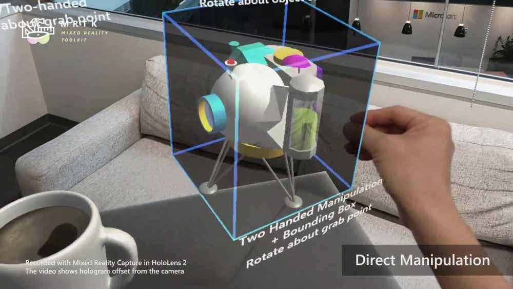 Das natürlichste Interface der Welt: die eigenen Hände. Mit Hololens 2 kommen sie digital zur Geltung.
